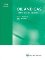 Oil and Gas Federal Income Taxation 2016