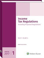 Income Tax Regulations (Winter 2017 Edition), December 2016