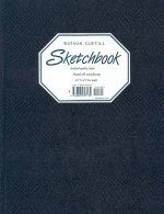 Large Sketchbook (Lizard, Navy Blue)