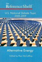 U.S. National Debate Topic 2008-2009: Alternative Energy