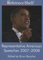 Representative American Speeches 2007-2008