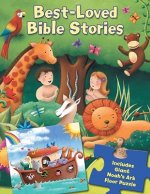 Best-Loved Bible Stories: Book and Giant Floor Puzzle