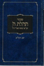 Siddur Large, Clear Tehilim 6 X 9 Blue
