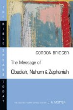 The Message of Obadiah, Nahum and Zephaniah: The Kindness and Severity of God