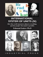 International System of Units (Si): How the World Measures Almost Everything, and the People Who Made It Possible