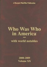 Who Was Who in America, Volume XX: With World Notables