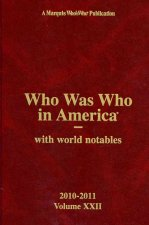 Who Was Who in America Volume 22