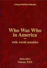Who Was Who in America Volume 22 & Index Set