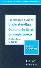 The Managers Guide to Understanding Commonly Used Contract Terms