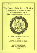 Order of the Secret Monitor Report of Proceedings and Yearbook 2012