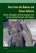 Texts from the Baboon and Falcon Galleries: Demotic, Hieroglyphic and Greek Inscriptions from the Sacred Animal Necropolis, North Saqqara