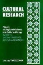 Cultural Research: Papers on Regional Cultures and Culture-Mixing