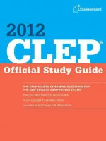 CLEP Official Study Guide