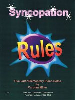 Syncopation Rules: Later Elementary Level