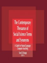 The Contemporary Thesaurus of Social Science Terms and Synonyms