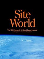 Site World - The Global Year of Super Projects