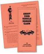 About Your Vehicle Damage Claim: 50 Questions and Answers with Checklist