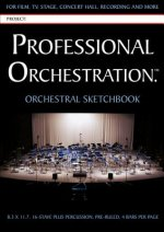 Professional Orchestration 16-Stave Ruled Orchestral Sketchbook