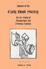 Journal of the Early Book Society for the Study of Manuscripts and Printing History Vol.5