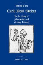 Journal of the Early Book Society, Volume Eleven