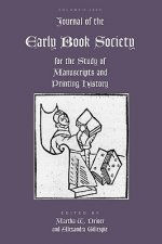Journal of the Early Book Society, Volume Twelve