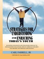 Strategies for Understanding and Enriching Today's Youth