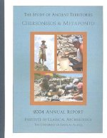 The Study of Ancient Territories: Chersonesos and Metaponto: 2004 Annual Report