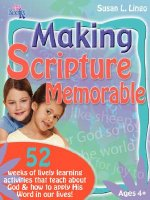 Making Scripture Memorable