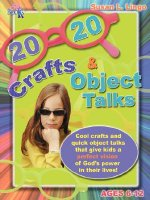 20/20 Crafts & Object Talks That Teach about God's Power