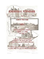 Knoxville, Tennessee - 1891 - Morrison