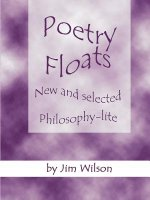 Poetry Floats - New and Selected Philosophy-Lite