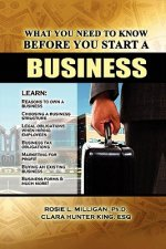 What You Need to Know Before You Start a Business