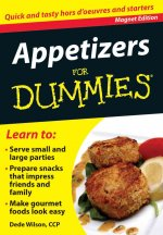 Appetizers for Dummies: Quick and Tasty Hors D'Oeuvres and Starters [With Magnet(s)]
