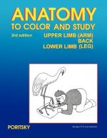 Anatomy to Color and Study Upper and Lower Limbs 3rd Edition