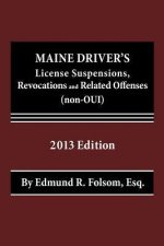 Maine Driver's License Suspensions, Revocations and Related Offenses (Non-Oui)