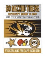 Go Mizzou Tigers Activity Book & App