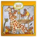 Kalendář nástěnný 2017 - Josef Lada /Zvířátka