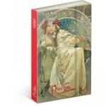 Notes Alfons Mucha Princezna linkovaný