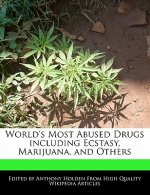World's Most Abused Drugs Including Ecstasy, Marijuana, and Others