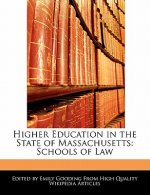 Higher Education in the State of Massachusetts: Schools of Law