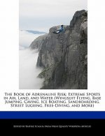 The Book of Adrenaline Risk: Extreme Sports in Air, Land, and Water (Wingsuit Flying, Base Jumping, Caving, Ice Boating, Sandboarding, Street Lugei