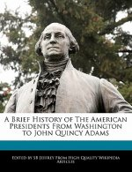 A Brief History of the American Presidents from Washington to John Quincy Adams