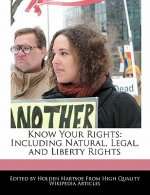 Know Your Rights: Including Natural, Legal, and Liberty Rights