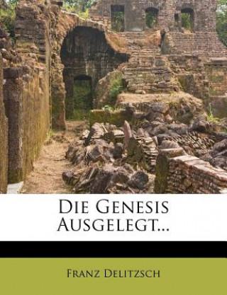 Einleitung und Commentar zur Genesis.