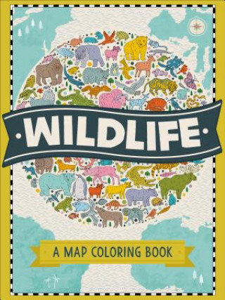 Wildlife: A Map Coloring Book