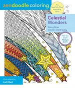 Zendoodle Coloring: Celestial Wonders: Brilliant Cosmos to Color and Display