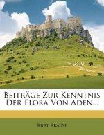 Beiträge zur Kenntnis der Flora von Aden.