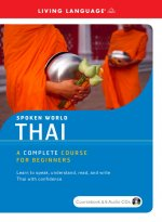 Thai: A Complete Course for Beginners [With Coursebook]