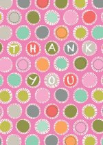 Colorful Dots Thank You Cards [With 12 Envelopes]