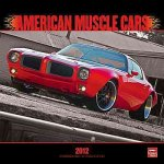 American Muscle Cars 2012 Square 12x12 Wall